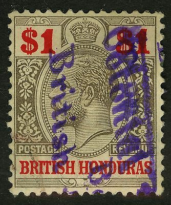 "British Honduras  1913-17   Scott # 82  USED - ""British Colonial"""