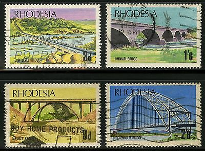 Rhodesia  1969   Scott # 271-274   USED  Set