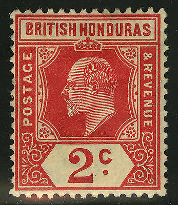 British Honduras  1909   Scott # 72  MH