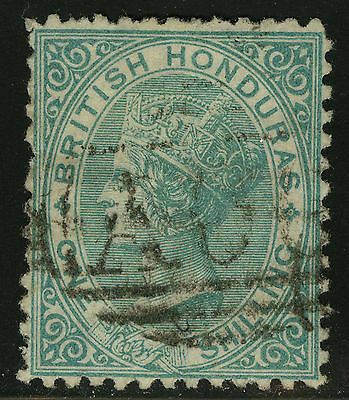 British Honduras  1872   Scott # 7  USED