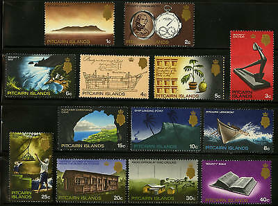 Pitcairn Islands  1969  Scott # 97-109  MNH Set