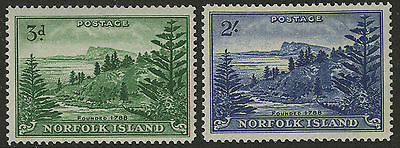 Norfolk Island   1959   Scott #  23-24    Mint Never Hinged Set
