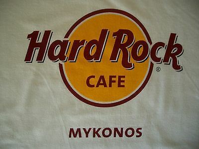 HRC Hard Rock Cafe Mykonos Greece Classic White Tee Shirt Size XXL neu new NWT