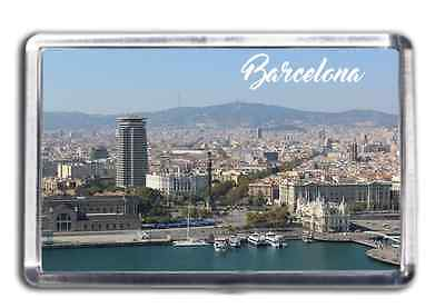 Barcelona Famous City Fridge Magnet Collectable Design Spain Catalonia