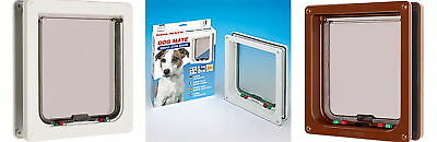 Cat Flap Dog Door For Large Cats Or & Small Dogs  221