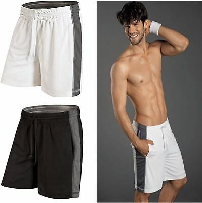 Men's Shorts Running Shorts Jogging Football Gym Hockey Sports Shorts NEW
