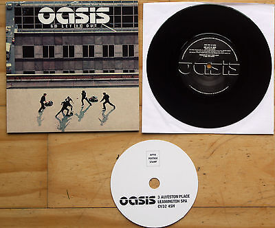 """New! Oasis Go Let It Out / Let's All Make Beleive 7"""" Vinyl 45"""