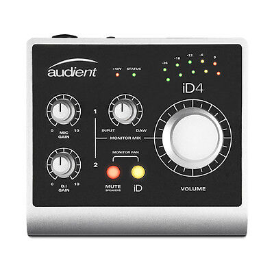 Audient ID4 High Performance USB JFET Recording Home Studio Audio Interface