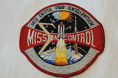 US Space Mission Control  Patch