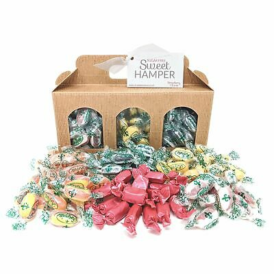 Sugar Free Sweet Hamper Box - Gift Present Diabetic Sweets Father's Day Birthday