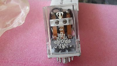 R15 Plug-in power relay 3PDT 10A 250V Coil 48V DC type R1510 1322 1048  RELPOL