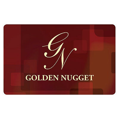 Golden Nugget Gift Card - $25 $50 or $100 - Email delivery