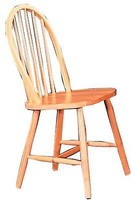Damen Windsor Dining Chair in a Natural Finish by Coaster 4127 - Set of 2