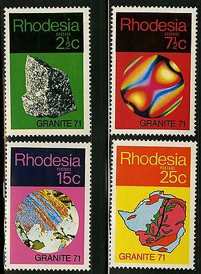 Rhodesia  1971   Scott # 310-313   MNH  Set