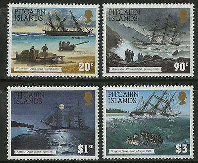 Pitcairn Islands  1994  Scott # 403-406  MNH Set