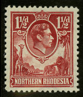 Northern Rhodesia  1938-52   Scott #  29  Mint Lightly Hinged