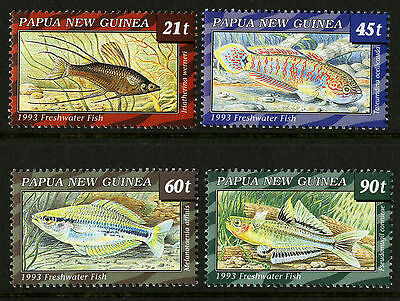 Papua New Guinea   1993   Scott # 810-813    Mint Never Hinged Set