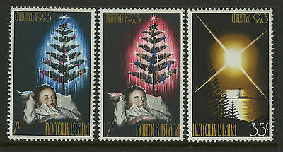 Norfolk Islands   1973   Scott # 153-155    Mint Never Hinged Set