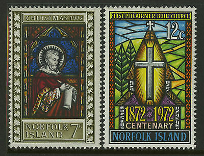 Norfolk Islands   1972   Scott # 150-151    Mint Never Hinged Set