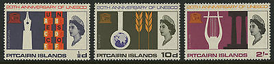 Pitcairn Islands  1966  Scott # 64-66  MNH Set