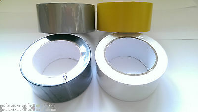 ULTRATAPE ELECTRICAL PVC INSULATION TAPE Jumbo 50mm x 33m 4 Different Colours