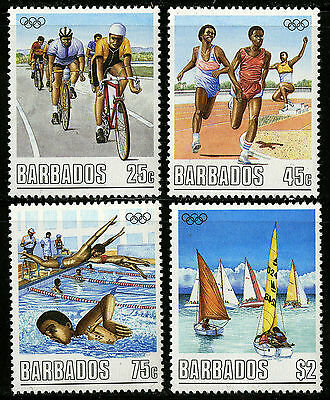 Barbados   1988   Scott #727-730    Mint Never Hinged Set