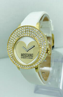 Moschino Ladies  Dial Heart Watch MW0048 Let's Love Series