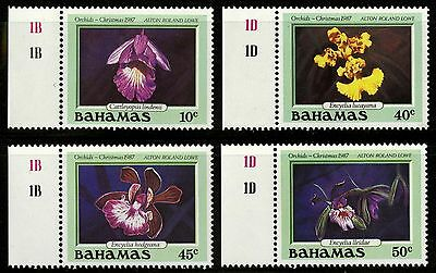 Bahamas   1987   Scott # 636-639   MLH Set