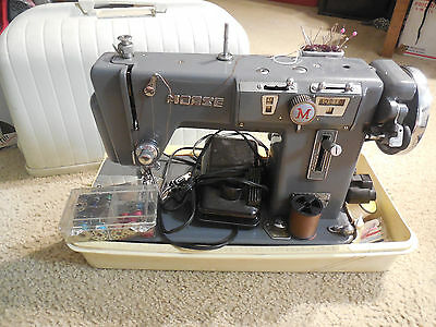 Zig Zag MORSE  Fotomatic 4100 Vintage sewing machine Made in Japan