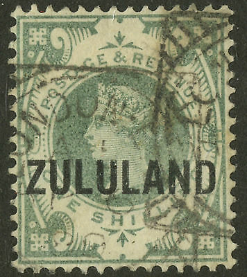 Zululand   1888-93  Scott #10   USED - Fake Overprint