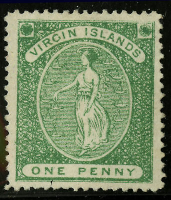 Virgin Islands  1870  Scott # 3  MLH