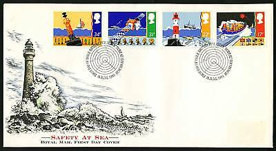 Great Britain 1985  Scott # 1107-1110   FDC