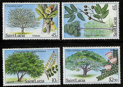 St Lucia   1984   Scott # 649-652   MNH Set