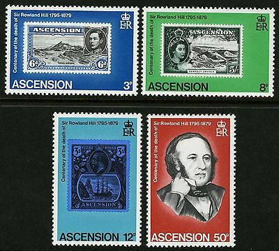 Ascension  1979   Scott # 247-250  MNH Set