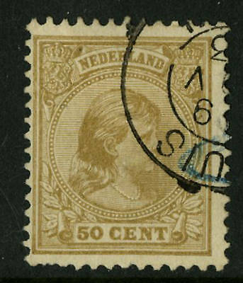 Netherlands  1894  Scott # 49  USED