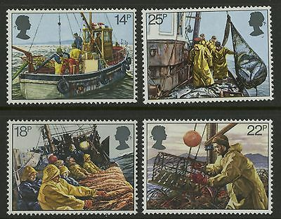 Great Britain   1981   Scott # 956-959    Mint Never Hinged Set