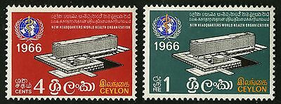 Ceylon   1966   Scott # 392-393  MLH Set