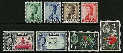 Fiji   1959-63   Scott # 163-173  Mint Lightly Hinged Part Set