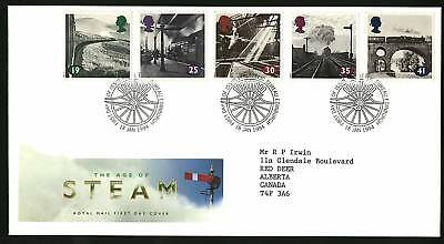 Great Britain 1994  Scott # 1533-1537 FDC