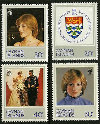 Cayman Islands   1982   Scott # 486-489   Mint Never Hinged Set