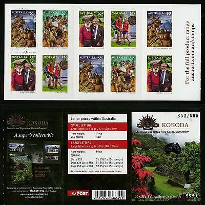 Australia  2010 Kokoda Booklet (London 2010)