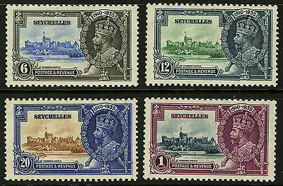 Seychelles  1935   Scott # 118-121   Mint Lightly Hinged Set