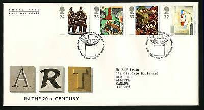 Great Britain 1993  Scott # 1498-1501  FDC
