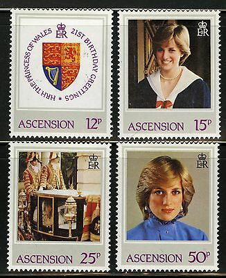 Ascension  1982   Scott # 313-316  MNH Set