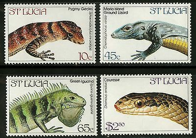 St Lucia   1984   Scott # 661-664   MNH Set