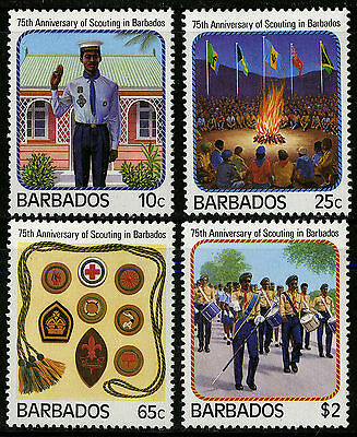 Barbados   1987   Scott #706-709    Mint Never Hinged Set