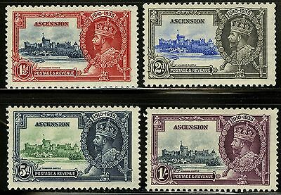 Ascension  1935   Scott # 33-36   MLH Set VF