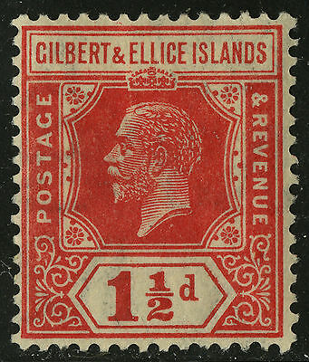 Gilbert & Ellice Islands   1921-27   Scott # 29   Mint  Hinged