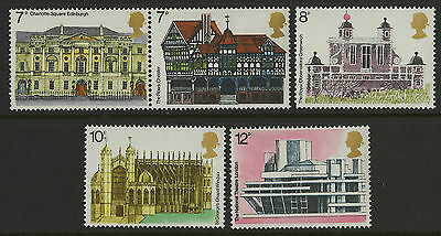 Great Britain   1975   Scott # 741a-744    Mint Never Hinged Set