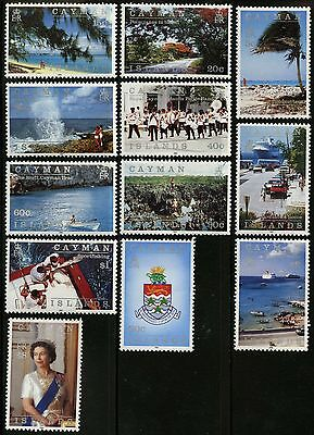 Cayman Islands   1991   Scott # 636-647   Mint Lightly Hinged Set